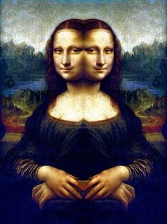 Mona Lisa Mirror 1 by EyeOfHobus on DeviantArt