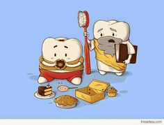 Why does my Sweet Tooth never listen to my Wisdom Tooth?   #DentalHumor #DentalJokes Google+