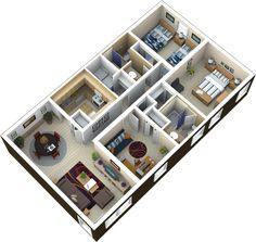Isometric room plan isometric art pinterest home for Small baths 1100