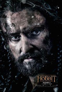 Le #Hobbit - La Bataille des Cinq Armées : affiches des personnages - #Thorin