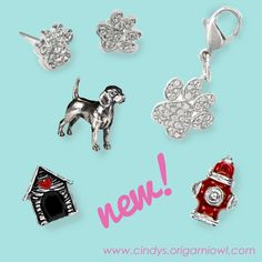 2016 Origami Owl Spring Collection is here!  Love all the new dog lover product.  #origamiowl #lovemydog