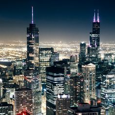 Sparkly! -- The Windy City by christian.senger, via Flickr