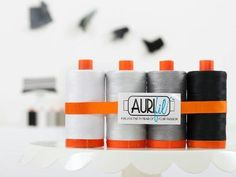 Check out Aurifil Black to White 4 Pack on Craftsy!