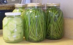 More pickles, and green beans (lactofermented) | Health, Home, & Happiness