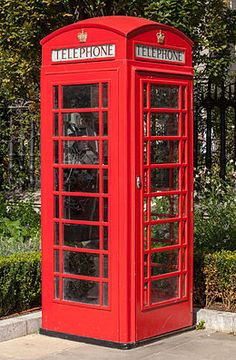 Red telephone box - Wikipedia, the free encyclopedia