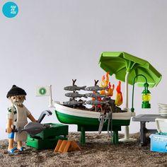 "176 Likes, 19 Comments - nacemi (@nataliacemi) on Instagram: ""El Espeto, luxury beach bar. #playmobil #custom #chiringuito #playclicks #playmobillovers…"""