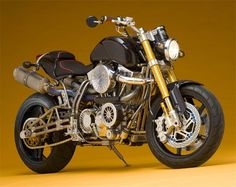 Worlds Most Expensive Motorcycle -- Ecosse Heretic Titanium Series