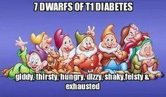 7 dwarfs of T1 diabetes