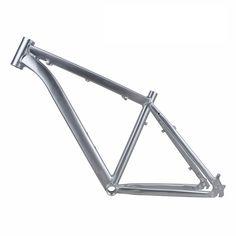 (107.10$)  Buy here  - ARTECK 26 inch *17 inch frame high drawing polishing silver mountain bike frame MTB tripod