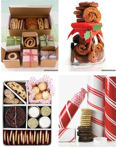 cookie packaging. Christmas sweets & treats: great recipes for cookies and candy, perfect for the holiday season