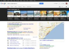 Google's new image carousel for local search.