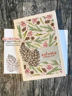 painted seasons bundle (stamp set and designer series paper) Cardboard Box Crafts, Paper Crafts For Kids, Paper Crafting, Fall Cards, Christmas Cards, Winter Cards, Stampin Up Weihnachten, Up Book, Scrapbooking