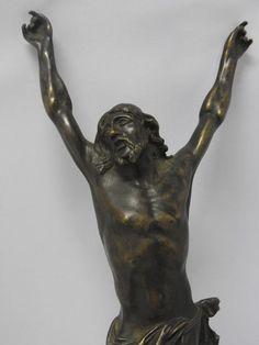 Online veilinghuis Catawiki: Bronzen Corpus Christi - 18e eeuw