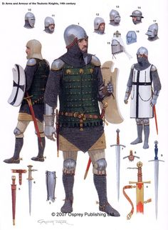 Knight Surcoat 13th century | 13th Century Knight Armor