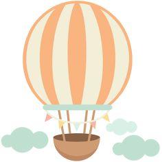 Hot Air Balloon cute scrapbook cuts SVG cutting files doodle cut files for scrapbooking clip art clipart doodle cut files for cricut free svg cuts Air Ballon, Hot Air Balloon, Ballon Illustration, Glam Planner, Cute Scrapbooks, Baby Clip Art, Cute Clipart, Silhouette Design, Balloons