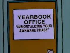 The Simpsons Way of Life (Posts tagged best) Yearbook Memes, Yearbook Shirts, Yearbook Class, Yearbook Design, Yearbook Ideas, Teaching Yearbook, Yearbook Layouts, Funny Puns, Hilarious