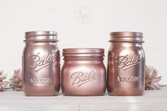Rose gold spray paint colors.If you want a more 'traditional' shade of rose gold go for the Design Master, Rust-Oleum or Krylon.  The Rust-oleum will be better for objects you handle and the Krylon for decor, as stated above it the shiny finish will tarnish with finger prints.
