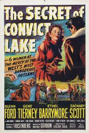 The Secret of Convict Lake. Directed by Michael Gordon. Classic Movie Posters, Original Movie Posters, Movie Poster Art, Classic Films, Old Movies, Vintage Movies, Great Movies, Gene Tierney, This Is Us Movie