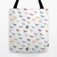 Magic Horses Tote Bag