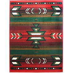 obsessed with this southwestern rug