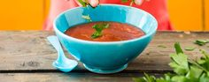 Tomato and red pepper soup