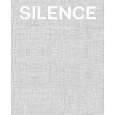 Silence by Toby Kamps, Steve Seid, and Jenni Sorkin (September 2012)