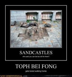 Um, no. Toph Beifong simply decided to show all those noobs out there what a REAL sandcastle looked like. She could've made it more magnificent if Sokka hadn't dragged her away.