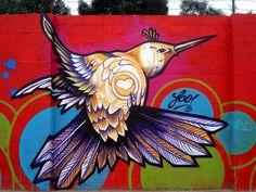 Fco in Bogota, Colombia #graffiti #streetart