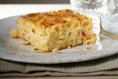 Ένα πολύ εύκολο στη παρασκευή του σε 10 λ στο ταψί, πολύ νόστιμο στη γεύση του ογκρατένζυμαρικών της στιγμής. Μια συνταγή για ένα πιάτο που σίγουρα θα Cookbook Recipes, Pasta Recipes, Cooking Recipes, Greek Dishes, Main Dishes, Greek Recipes, Pasta Dishes, Lasagna, Macaroni And Cheese
