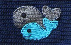 Crochet Whale Pattern Under the Sea Crochet Pattern by CrochetHey, $3.50