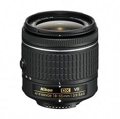 A go-to lens for nearly any situationWith the Vibration Reduction (VR) equipped AF-P DX NIKKOR 18-55mm f/3.5-5.6G VR on your DX-format DSLR you'll be ready for anything. Part of Nikon's new 'P' serie...