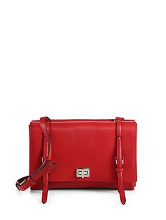 Prada - Lux Calf Double Shoulder Bag - Saks.com