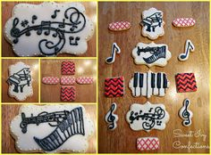 Sweet Ivy Confections...musical cookies