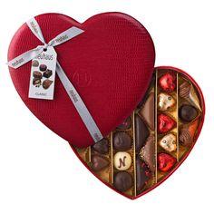 Neuhaus Valentine Large Leather Heart Box