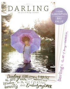 darling magazine giveaway - enter to win a year subscription at Going Home to Roost blog