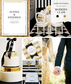 Modern glam at its best with these DIY details