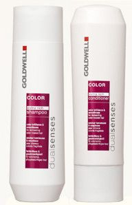 Goldwell Color Care - I have a few hair products listed - this by far is #1. My hair color never fades and my hair looks healthy and vibrant.