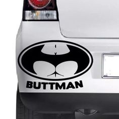 Buttman batman logo window bumper wall jdm vw vag #novelty #vinyl decal #sticker, View more on the LINK: http://www.zeppy.io/product/gb/2/262240777006/