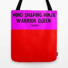 Teacher Tote Bag — Great Teacher Gift! —Personalized Teacher Gift