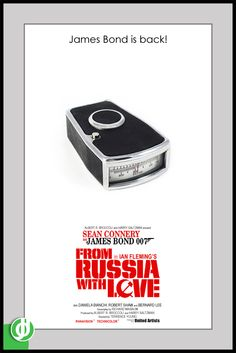 FROM RUSSIA WITH LOVE. Poster designed by Jidé.