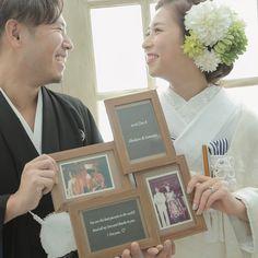 両親の結婚写真を前撮りアイテムにしたウェディングフォト特集   marry[マリー]