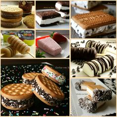 cake and recipes No Cook Desserts, Sweets Recipes, Sweet Desserts, Gelato Ice Cream, No Churn Ice Cream, Biscuit Cake, Bacon, Homemade Ice Cream, Ice Cream Recipes