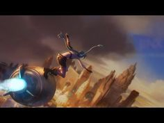 """Some [wo]men just want to watch the world burn, apparently. Jinx music video, """"Get Jinxed"""". #LeagueOfLegends"""