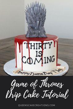 Game of Thrones drip cake tutorial!
