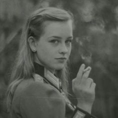 A beautiful lady in German uniform smoking a cigarette, Prussica Imperatrix image from the ClassicCollective German Women, German Girls, Military Women, Military History, Military Pictures, Female Soldier, Girl Smoking, German Army, Historical Pictures