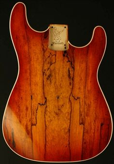 Warmoth Spalt Maple Strat Body