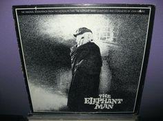 Rare Vinyl Record The Elephant Man Original Soundtrack LP 1977 Dark Carnival Goth Steampunk
