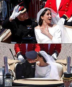 #New Prince Harry and Meghan Markle's wedding (19th May)❤️ . Carriage procession #britishroyalfamily #britishroyals #princewilliam…