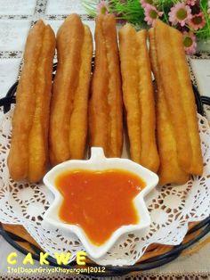 Cake Recipes, Snack Recipes, Cooking Recipes, Snacks, Cooking Tips, Churros, Indonesian Cuisine, Ramadan Recipes, Kitchen Recipes