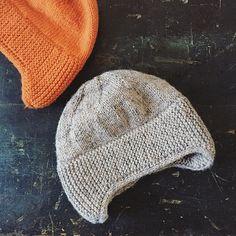 Free knit hat pattern--love that it's longer over the ears!